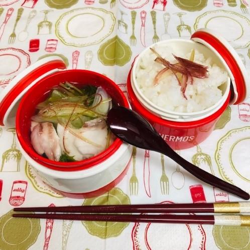 アレンジレシピ:冷し鯛茶漬け弁当