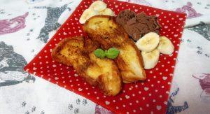 まるでホテル朝食♡ 料理酒とアイスで作る簡単フレンチトースト