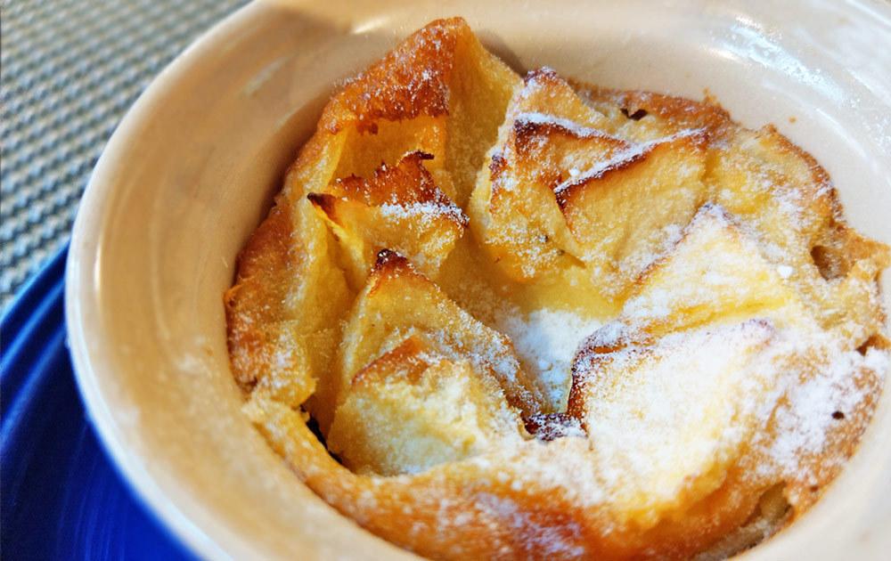 ドルチェ 飛騨リンゴのカスタードケーキ