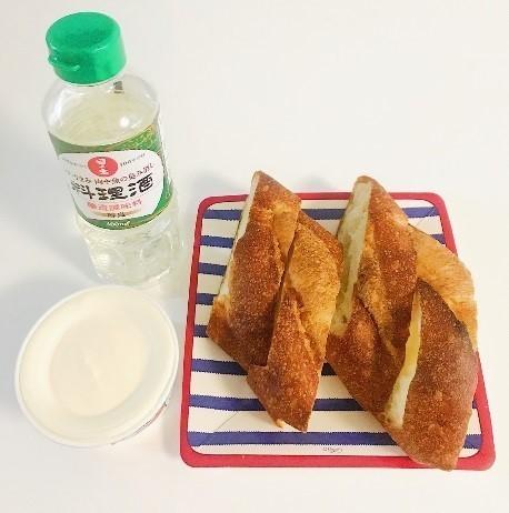 簡単フレンチトースト 材料