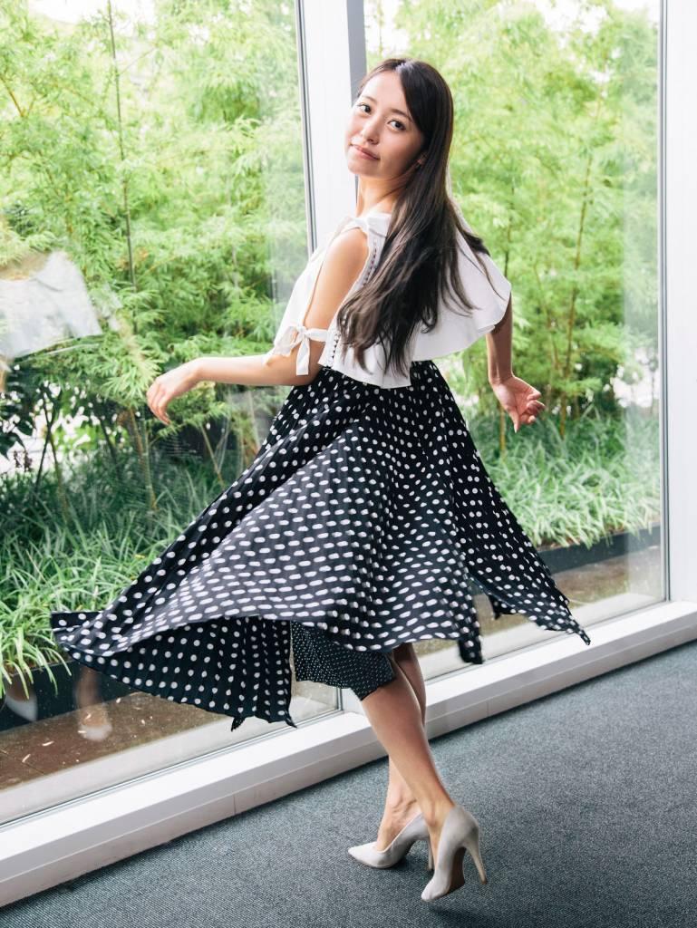 SNS映え スカートふわり写真の撮り方 和製モンローがスカートふわり写真で大事にしていること