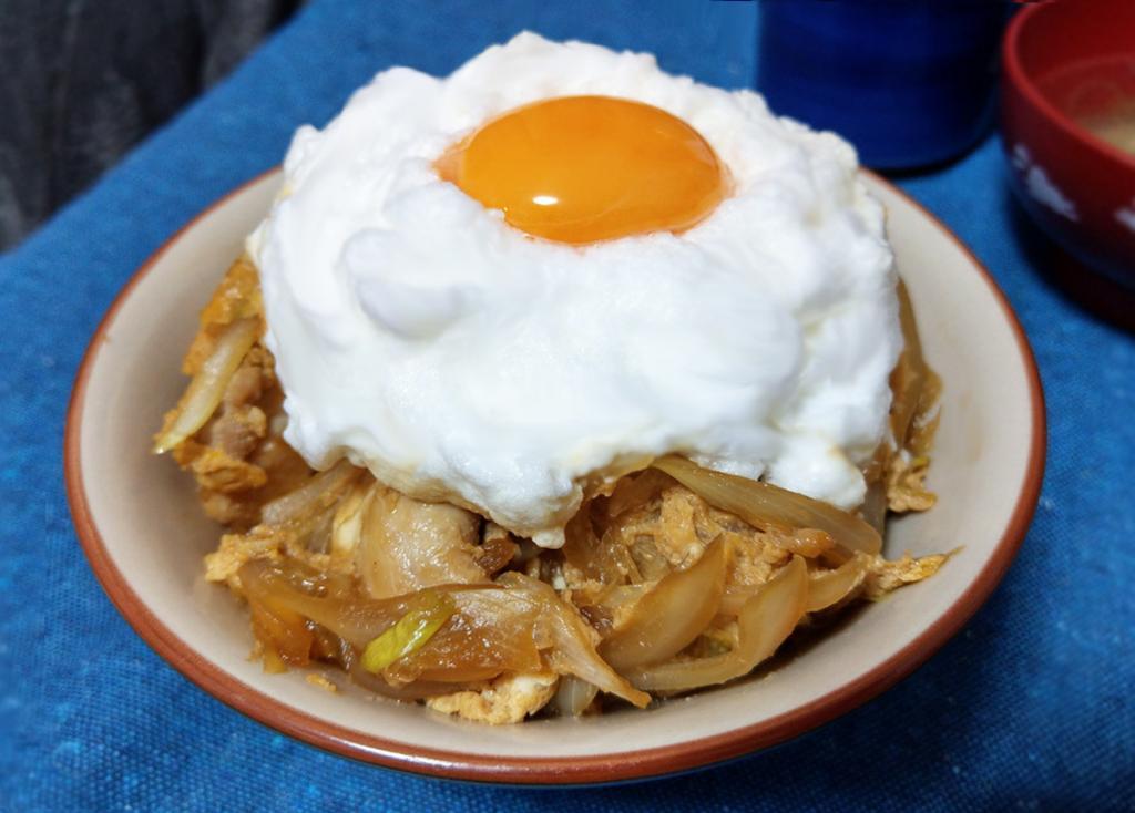 ふわふわメレンゲ親子丼レシピ