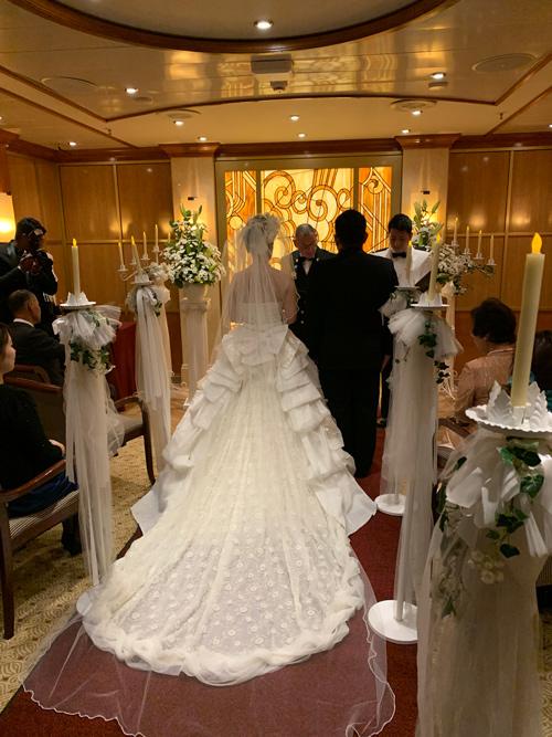 婚活体験談 女性 DNA×豪華客船 ご成婚となったカップルの結婚式!