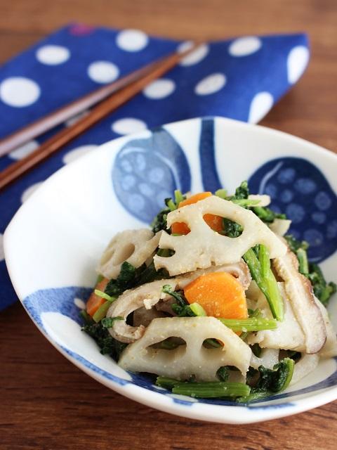 レンコンの栄養とレシピ