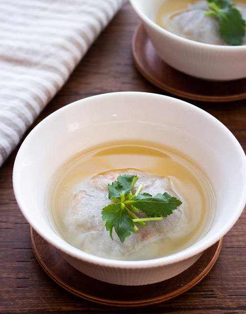 冷え性対策レシピ:れんこんまんじゅう