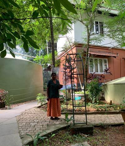 アットホームなアーユルヴェーダ治療施設「Madukkakuzhy Ayurveda」です