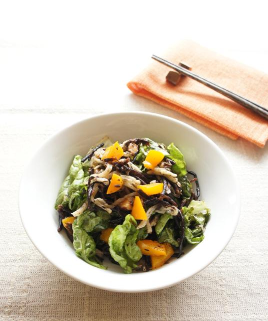 春むくみ撃退レシピ:ひじきと切干大根のナッツサラダ(副菜)